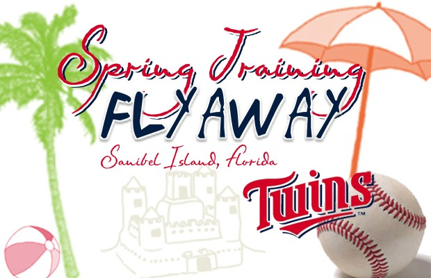 Twins Spring Training Flyaway 3/17-22 or 3/24-29