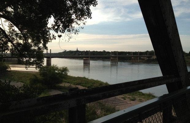 Officials Monitor River Life