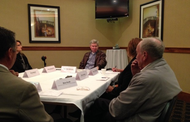 Johnson Meets Economic Development Leaders