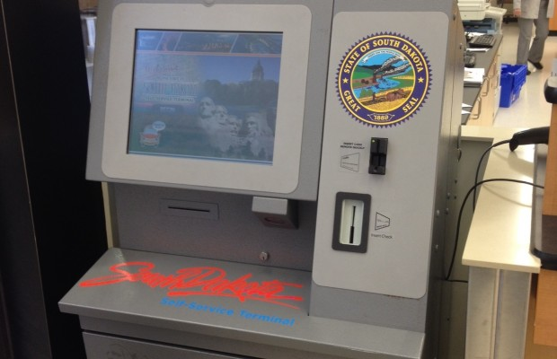 SD License Tag Terminal Online in Yankton