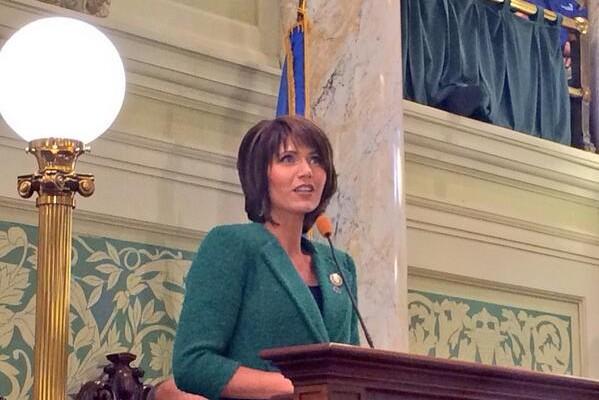 Noem Speaks To Legislature