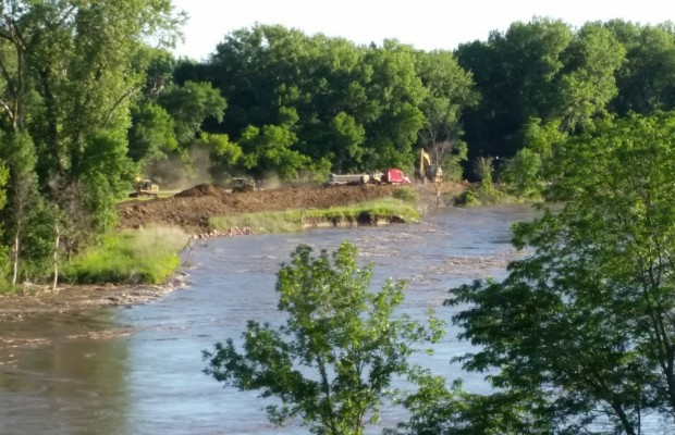 Big Sioux River Falling; Interstate To Reopen