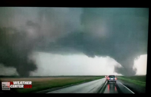 Tornados Cause Heavy Crop Damage In Cedar County Nebraska