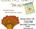 2016 Spring Bingo small poster